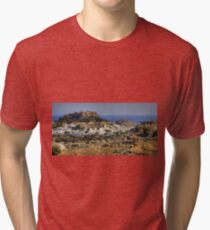 Between a Rock and a Hard Place Tri-blend T-Shirt