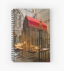 The Shrine of St Alban Spiral Notebook