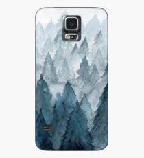 Klarer Winter Hülle & Klebefolie für Samsung Galaxy