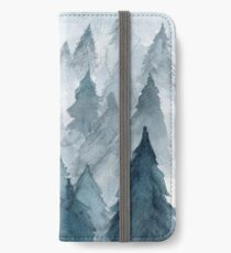 Clear Winter iPhone Wallet/Case/Skin
