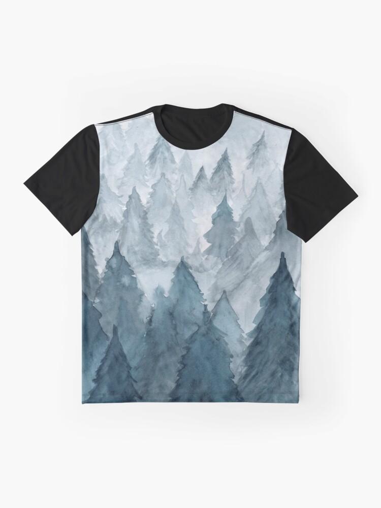 Vista alternativa de Camiseta gráfica Claro invierno