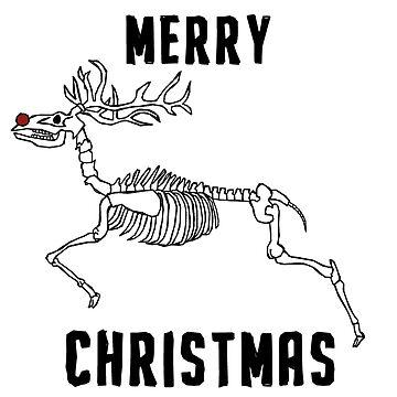 Merry Christmas - Reindeer  by Tom33342