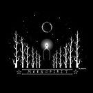 Moon Spirit (white writing) by Nalakwsis