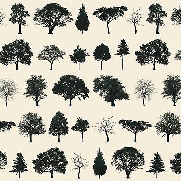 Trees by rodrigomff23