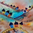 Over the Hills (2) by FrancesArt