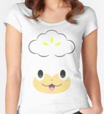 Pokemon - Pansage / Yanappu Women's Fitted Scoop T-Shirt
