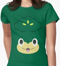 Pokemon - Pansage / Yanappu Womens Fitted T-Shirt