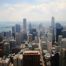 Chicago from the Hancock Tower by ImogenC