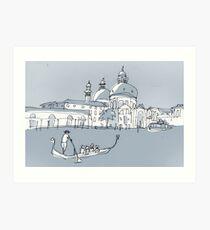 Venedig Kunstdruck