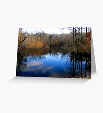 Willow Pond Greeting Card