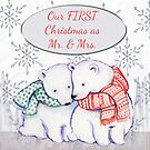 Our First Christmas As Mr & Mrs Polar Bears by Vickie Emms