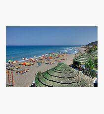 Praia de Kamiros Photographic Print