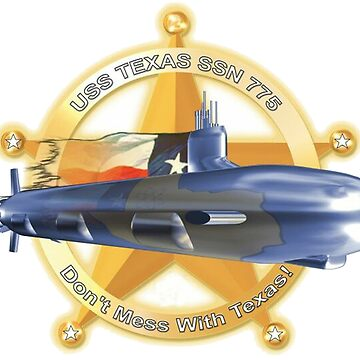 USS Texas SSN-775 by Spacestuffplus