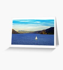 Sunday afternoon on the River Greeting Card