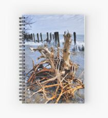 Tangled Weave Spiral Notebook