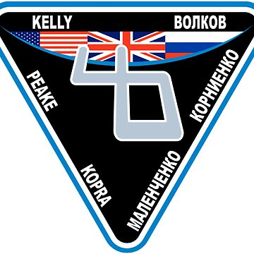 Expedition 46 Mission Patch by Spacestuffplus