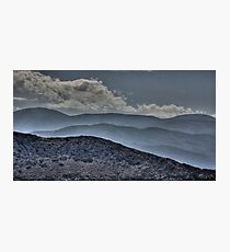 Mountains of Rhodes Photographic Print