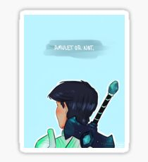 Amulet or Not Sticker