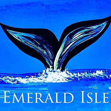 Emerald Isle whale by barryknauff