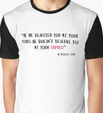 Jeffree Star - If he rejected you at your Prius he doesn't deserve you at your Lambo Graphic T-Shirt