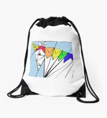 Unicorns in My World Drawstring Bag