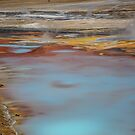 USA. Wyoming. Yellowstone National Park. Porcelain Springs. by vadim19