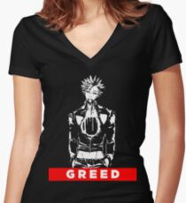 Ban Seven Deadly Sins Women's Fitted V-Neck T-Shirt