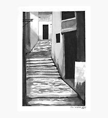 Angular Photographic Print