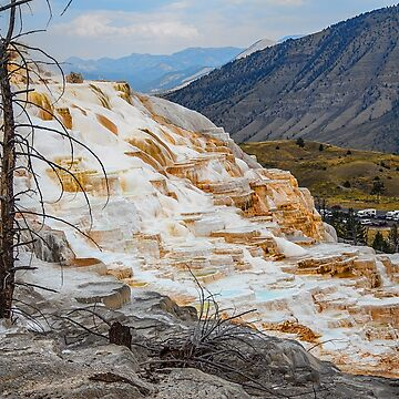 USA. Wyoming. Yellowstone National Park. Geological Wonder. by vadim19