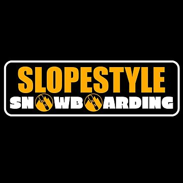 Slopestyle T-Shirt & Snowboard Gift by larry01