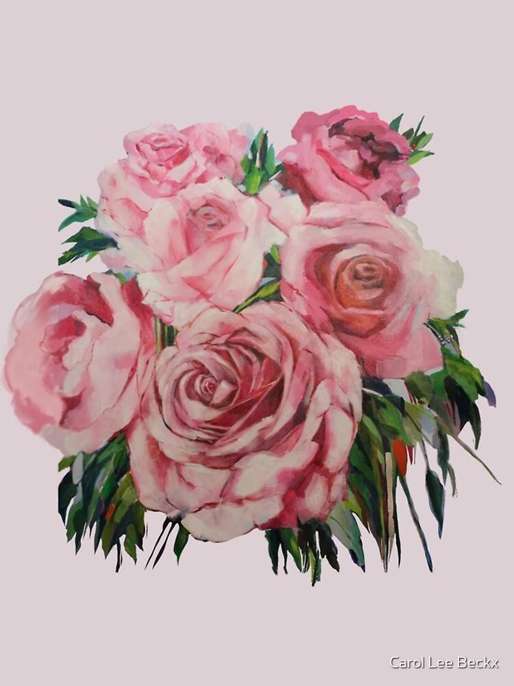 Pink Roses  by Carol-Lee-Beckx