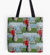 Jack And Elizabeth Tote Bag