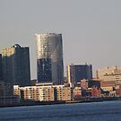 Jersey City Skyline, Jersey City, New Jersey  by lenspiro