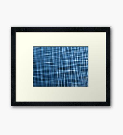 Water Pattern #1 Framed Print