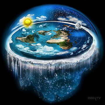 Flat Earth with Dome Art by ODDTV