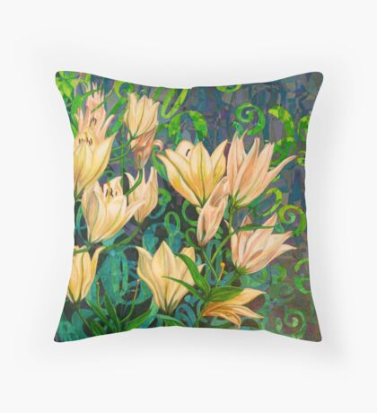 Goblets of Light Throw Pillow