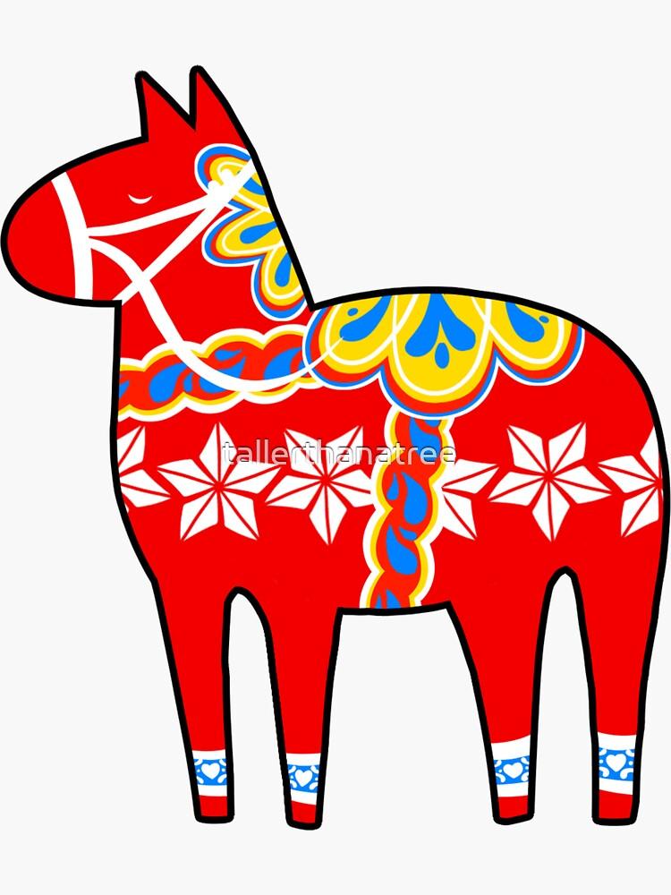 Dala-Pferd von tallerthanatree