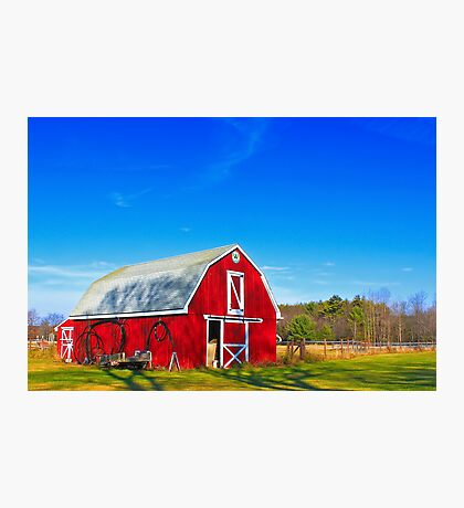 Another Red Barn Fotodruck