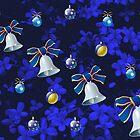 Four Bells - Christmas in Blue by Kathryn Jones