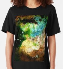 Volcanic Clouds Slim Fit T-Shirt