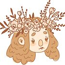 Flower Crown Forest Lass by nykiway