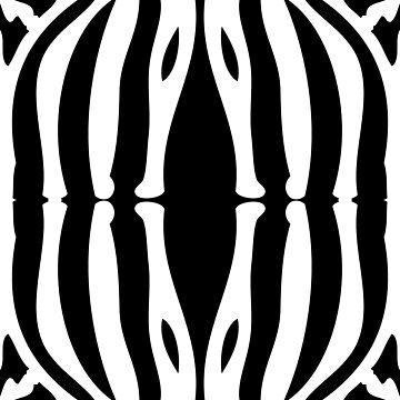 Zebra Pattern - Vertical by Real-Digital