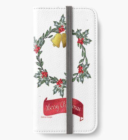 Wreath & Bells (3904 views) iPhone Wallet