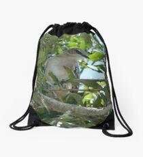 Mockingbird Drawstring Bag