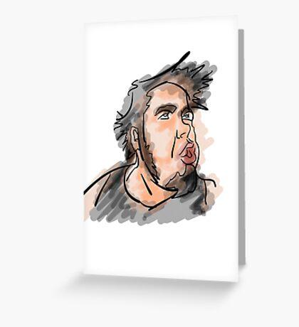 Stu Paterson Illustration Greeting Card