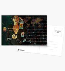 card reader Postcards