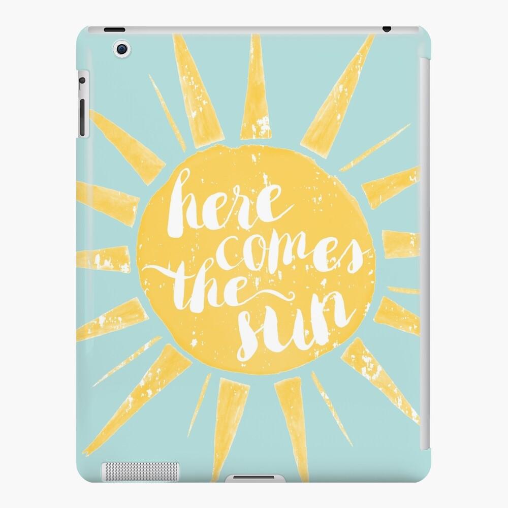 Aquí viene el sol Funda y vinilo para iPad