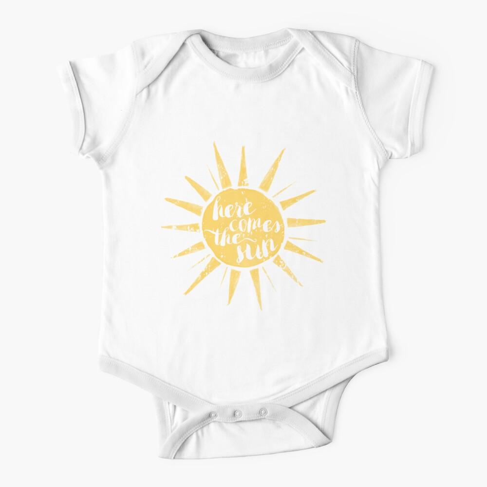 Aquí viene el sol Body para bebé