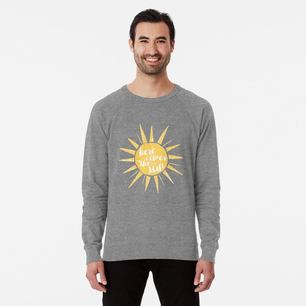 Aquí viene el sol Sudadera ligera