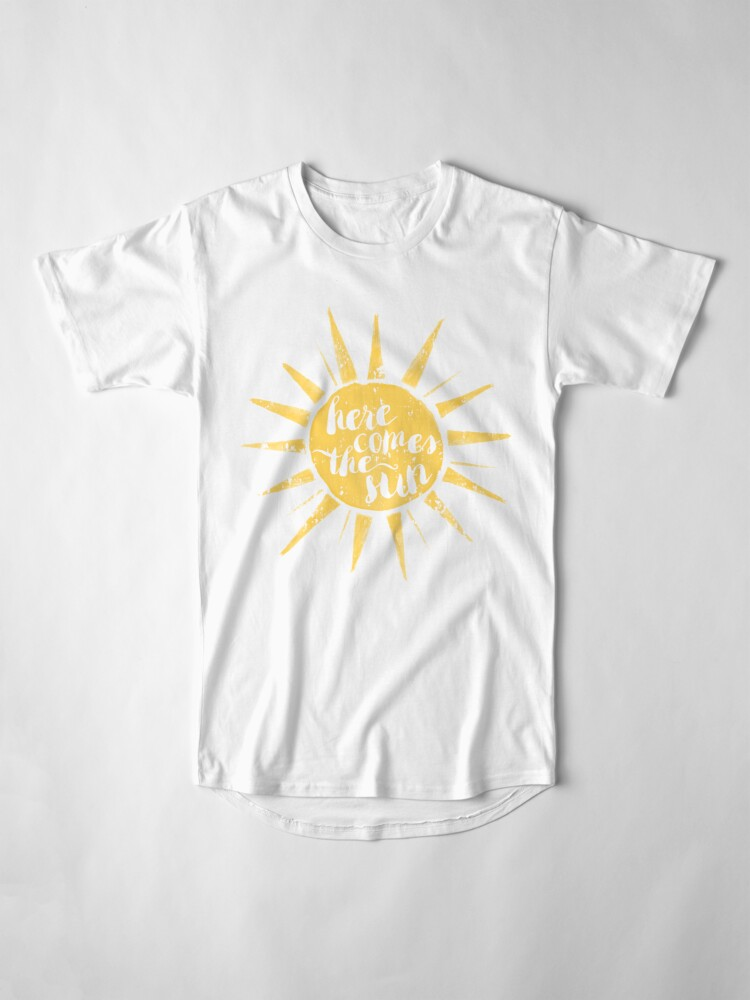 Alternate view of Here Comes the Sun Long T-Shirt